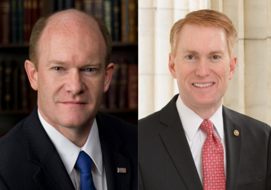Senators Chris Coons and James Lankford on Tariffs and Trade, and ...